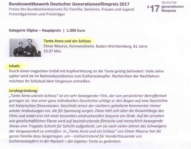 Elmar Schloss Grafeneck Info